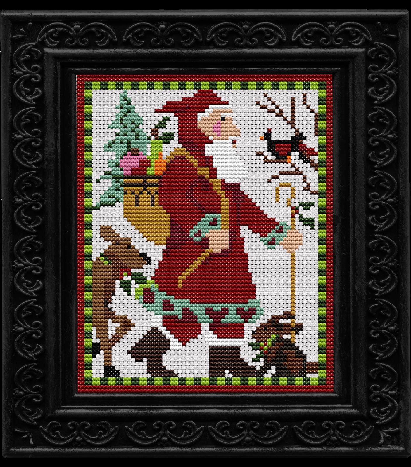 Woodland santa kit