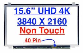 "DWJ0R 0DWJ0R 15.6"" UHD 4K LED LCD Screen (Non Touch) - $116.82"