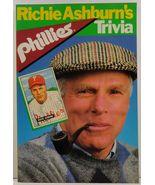Richie Ashburn's Phillies Trivia by Richie Ashburn with Allen Lewis - $5.99