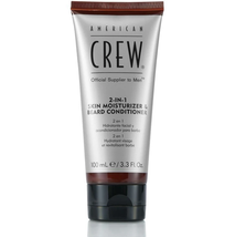 American Crew 2-In-1 Skin Moisturizer & Beard Conditioner,  3.3oz
