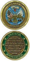 U.S. Army Wife Spouse Military Service Challenge Coin - $13.53