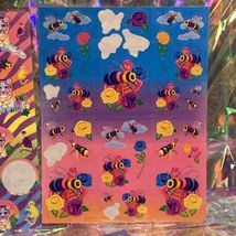 Incredible Incomplete Lisa Frank Sticker Sheets LOT OF 5 Rainbow Tiger Kittens + image 2
