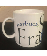 StarBucks San Francisco City Mug Collector Series - 1994 Blue - $14.50