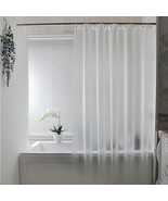 PEVA transparent matte shower curtain waterproof mildew shower curtains ... - $48.87