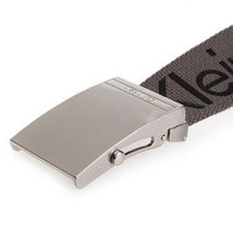 New Calvin Klein Men's Premium CK Logo Cotton Adjustable 38mm Canvas Belt 73545 image 13
