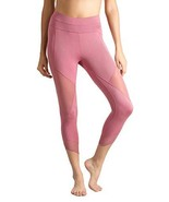 Lin Women Running Tights Mid-Waist Tummy Control Mesh Leggings for Yoga ... - $18.73