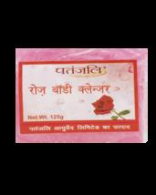 PATANJALI ROSE BODY CLEANSER/Bar Soap - (125GM) - $10.99