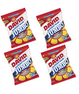 Roased & Salted JUMBO 4 Pack 16 OZ David's SUNFLOWER SEEDS Baseball Nuts... - $42.06