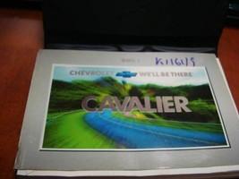 CAVALIER  2001 Owners Manual 136362 - $34.65