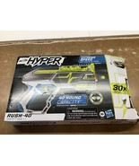 *opened* NERF Hyper Rush-40 Pump-Action Blaster and 30 NERF Hyper Rounds - $18.42