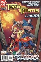 (CB-5) 2004 DC Comic Book: Teen Titans #16 { Fatal Five App. } - $2.00