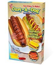 Curl-A-Dog BBQ Spiral Grilling Hot Dog Sausage Slicers - €7,33 EUR