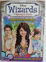DVD  -  WIZARDS  OF  WAVERLY  PLACE   ( SUPERNATURALLY  STYLIN' ) - $3.00