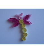 Special Order Paper Quilled Round Body Dragonfl... - $2.50