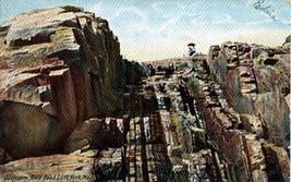 1906 Staircase Bald Head Cliff York Maine Color Postcard - $3.00