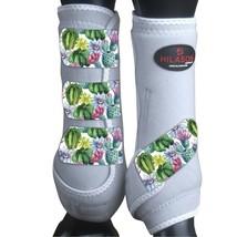 Xl - Hilason Horse Medicine Sports Boots Rear Hind Leg White U-S-XL - $65.33