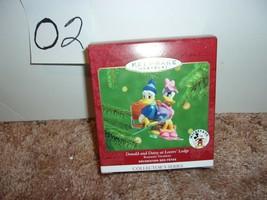 Donald And Daisy At Lovers' Lodge 2000 Hallmark Disney Ornament QXD4031 - NIB - $24.99