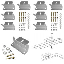 HQST Z Bracket Mount System Solar Panel Installation Nuts Bolts Home Imp... - $31.58