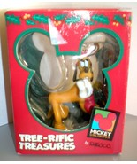 Enesco MICKEY Unlimited PLUTO resin ornament antlers NIB - $9.99