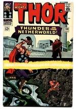 THOR #130 comic book 1966-MARVEL COMICS-KIRBY hercules VF - $74.40