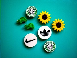 Charm Shoe Button Fit  Accessorie Fit  WristBand Starbuck Sun Flower - $16.99
