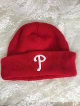 Philadelphia Phillies Knit Beanie - Genuine MLB Merchandise - One Size -... - $9.49