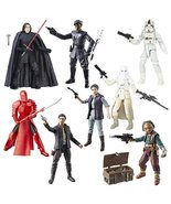 Star Wars: The Black Series 6-Inch Action Figures Wave 13 Case, Set of 8 - $2.184,69 MXN