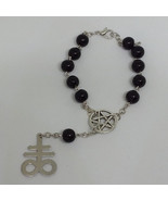 Leviathan Cross Rosary Bracelet    - $16.00