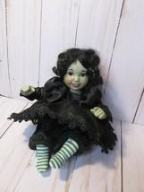 *Marie Osmond Wizard Of Oz Tiny Tot Doll Wicked Witch 2000 - $29.69