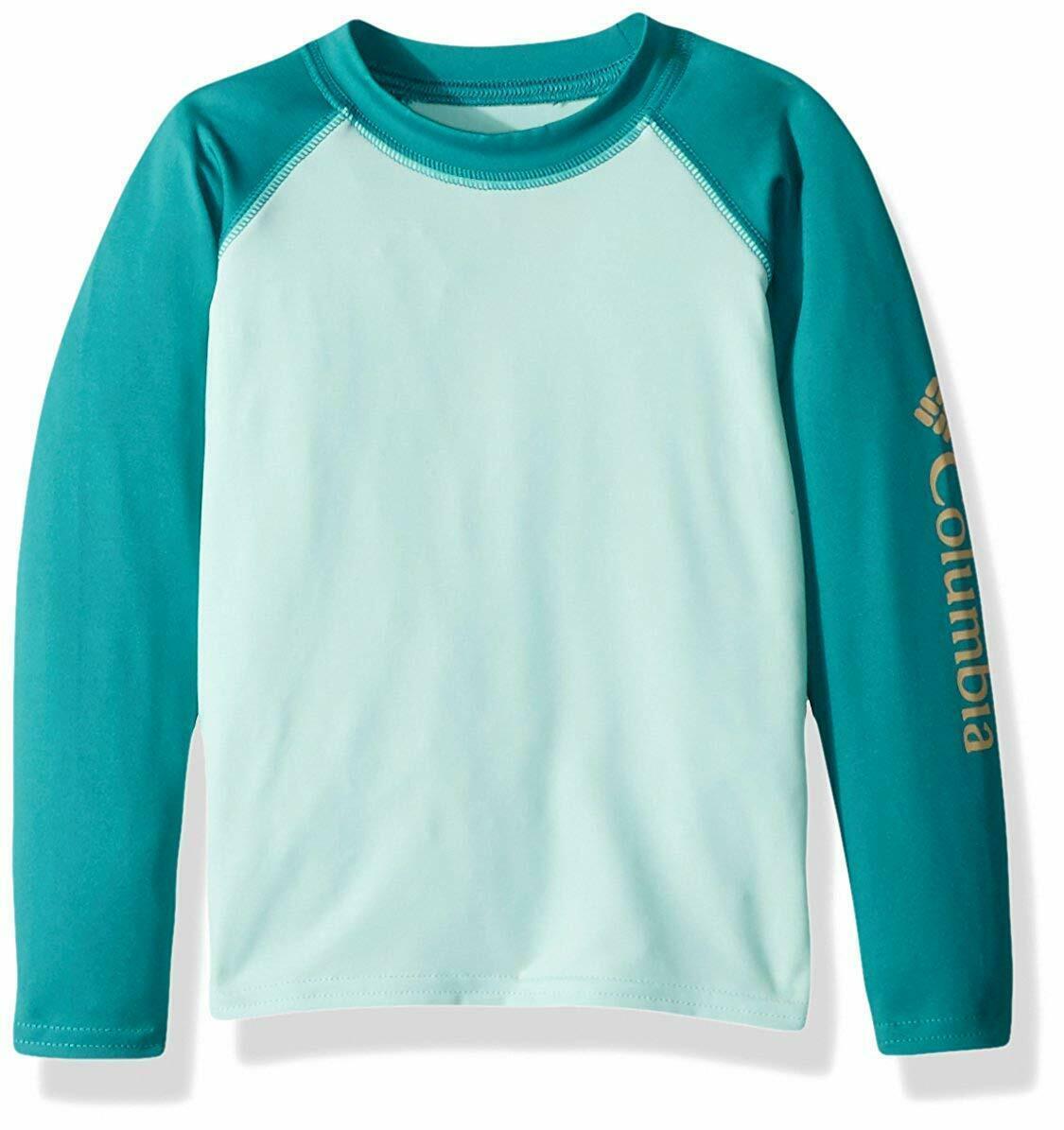 NWT Columbia Kids L (14) Omni-Shade Swim and Sun Guard Shirt Mint - $23.00