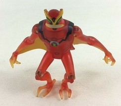 "Ben 10 Alien Force Defender Jetray 4"" Figure Translucent 2008 Bandai Rare - $26.68"