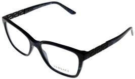 Versace Eyeglasses Frame VE3192B 5127 Rectangular Black Fashion Women - $147.51