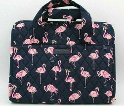 BNWTS Vera Bradley Travel Cosmetic Hanging Organizer Flamingo Fiesta - $44.06