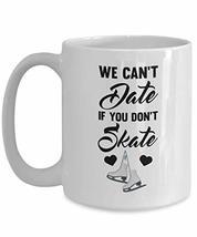 PixiDoodle Sassy Dating Skating Coffee Mug (15 oz, White) - $21.37