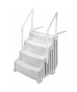 """MIGHTY STEP 38"""" ABOVE GROUND Pool Steps NEW  """"FAST SHIP"""" - $275.89"""