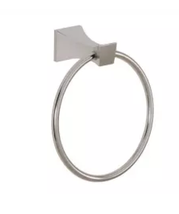 Aquabrass 5307BN Bridge Wallmount Towel Ring in Brushed Nickel - $113.80