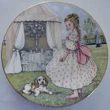Tuesdays Child Collector Plate Royal Worcester Bone China Hamilton Colle... - $29.99