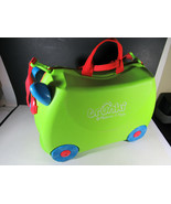 Melissa and Doug Trunki Rolling Green Ride-On Suitcase - $29.69