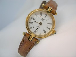 "L65, JAZ PARIS Ladies Watch W7L243 , 7.5"" Leather Band - $19.83"