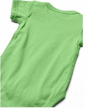 Marky G Apparel Baby Boys' Fine Jersey Bodysuit 2pk Black/Green Apple- 18 Months