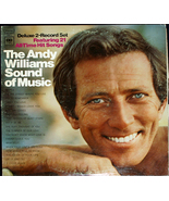 """Andy Williams  """"Sound Of Music""""   Columbia Records KGP-5   Double LP - $9.00"""