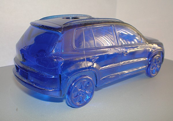 VOLKSWAGEN VW Tiguan collectible pen holder recycled plastic resin