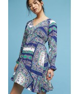 New $148 Anthropologie Monaco Dress by Maeve SMALL Blue - $57.42
