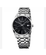 Calvin Klein CK Men's K4N23141 Time Silver Steel Watch - $295.00