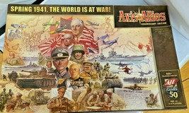 Axis & Allies Anniversary Edition Board Game Avalon Hill (2008) CLEAN US... - $270.90
