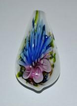 Vintage Murano Glass Flower Pendant - $18.41
