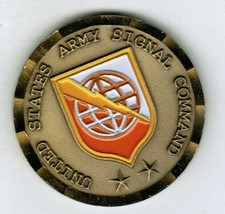 9th Army Signal Command Commanding General Challenge Coin NETCOM 9ASC 2 STAR CG - $25.60