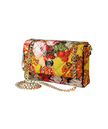 Small Rose Handbag- gold color fittings- FLIGHT... - $363.00