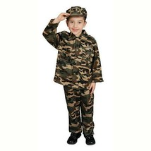 Deluxe Military Officer Child Halloween Costume Boys Size Small 202-S - $25.13