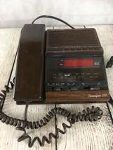 Radio Shack Clock Radio Alarm & Phone Chronofone 255 Vintage Model 12-1562 - $20.53
